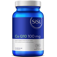SISU Co Q10 100 mg, 100 Vegetable Capsules