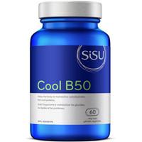 SISU Cool B50, 60 Vegetable Capsules   NutriFarm.ca