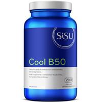 SISU Cool B50, 200 Vegetable Capsules   NutriFarm.ca