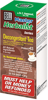 Bell Decongestant Tea, 30 bags | NutriFarm.ca