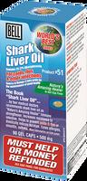 Bell Shark Oil 500 mg, 90 Softgels | NutriFarm.ca