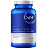 SISU Omega 3 1000 mg (Orange flavour), 120 Softgels | NutriFarm.ca