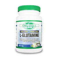 Organika L-Glutamine, 180 Capsules | NutriFarm.ca