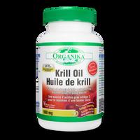 Organika Krill Oil 500 mg, 90 Softgels | NutriFarm.ca