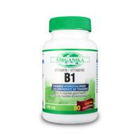 Organika Vitamin B1 (Thiamine HCL), 90 Capsules | NutriFarm.ca