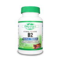 Organika Vitamin B2 (Riboflavin), 90 Capsules | NutriFarm.ca