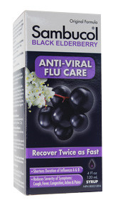 Sambucol Black Elderberry Original Extract, 120 ml | NutriFarm.ca