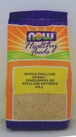 NOW Psyllium Husks Whole, 454 g | NutriFarm.ca
