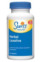 Swiss Natural Herbal Laxative, 90 Tablets   NutriFarm.ca