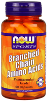 NOW Branch-Chain Amino Acid, 60 Capsules | NutriFarm.ca