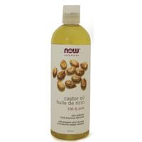 NOW Castor Oil, 473 ml | NutriFarm.ca