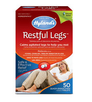 Hyland's Restful Legs, 50 Tablets   NutriFarm.ca