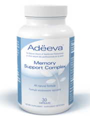 Adeeva Memory Support Complex, 30 Capsules | NutriFarm.ca