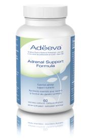 Adeeva Adrenal Support Formula, 60 Capsules | NutriFarm.ca