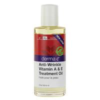 derma e Anti-Wrinkle Vitamin A & E Treatment Oil, 60 ml | NutriFarm.ca