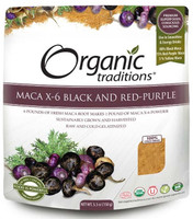 Organic Traditions Maca X-6 Powder 6:1, 150 g | NutriFarm.ca