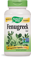 Nature's Way Fenugreek Seed, 180 Vegetarian Capsules | NutriFarm.ca