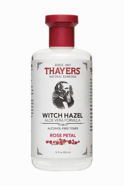 THAYER'S ALCOHOL-FREE TONER WITH ROSE PETAL, WITCH HAZEL, 355ML  | NutriFarm.ca