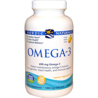 Nordic Naturals Omega 3 Lemon Flavour, 120 Softgels   NutriFarm.ca