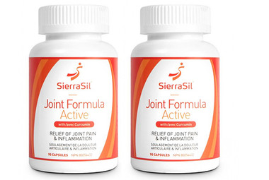 SierraSil Joint Formula Active, 2 x 90 Capsules   NutriFarm.ca