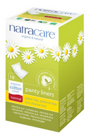 Natracare Panty Liner normal, 18 liners | NutriFarm.ca