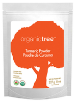 OrganicTree Organic Turmeric Powder, 454 g | NutriFarm.ca