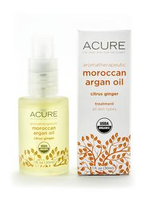 ACURE Argan Oil Citrus Ginger, 30 ml | NutriFarm.ca