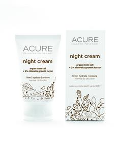 ACURE Night Cream, 50 ml | NutriFarm.ca