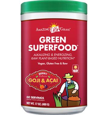 Amazing Grass Green Superfood (Berry), 480 g | NutriFarm.ca