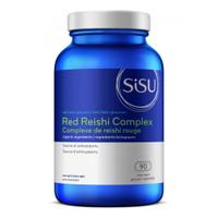 SISU Red Reishi Complex, 90 Vegetable Capsules   NutriFarm.ca