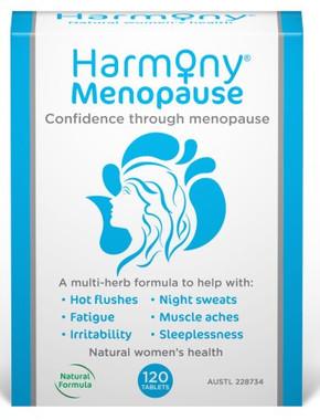 Martin Pleasance Harmony Menopause, 120 tablets | NutriFarm.ca