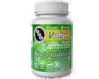 AOR Omega 3 Astaxanthin, 60 Softgels | NutriFarm.ca