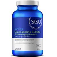 SISU Glucosamine Sulfate 500 mg, 180 Capsules | NutriFarm.ca