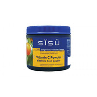 SISU Vitamin C Buffered Powder Orange, 200 g | NutriFarm.ca