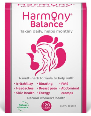 Martin Pleasance Harmony Balance (PMS), 120 tablets   NutriFarm.ca