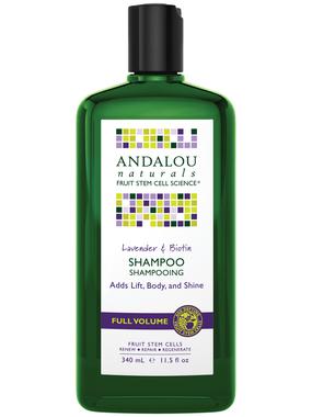 Andalou Naturals Lavender Biotin Volume Shampoo, 340 ml   NutriFarm.ca