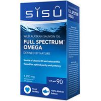 SISU Full Spectrum Omega, 90 Softgels | NutriFarm.ca