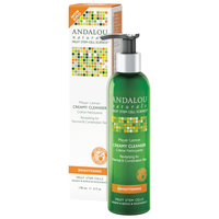 Andalou Naturals Meyer Lemon Creamy Cleanser, 178 ml | NutriFarm.ca