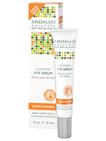 Andalou Naturals Luminous Eye Serum, 18 ml | NutriFarm.ca