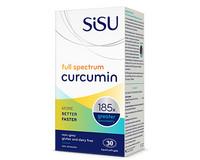 SISU Full Spectrum Curcumin, 30 Softgels | NutriFarm.ca