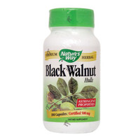 Nature's Way Black Walnut Hulls, 100 Capsules | NutriFarm.ca