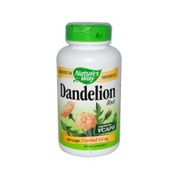Nature's Way Dandelion Root, 180 Vegetable Capsules | NutriFarm.ca