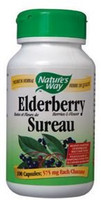 Nature's Way Elderberry, 100 Capsules | NutriFarm.ca