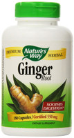 Nature's Way Ginger Root, 180 Capsules | NutriFarm.ca