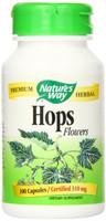 Nature's Way Hops Flowers, 100 Capsules | NutriFarm.ca
