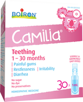 Boiron Camilia Baby Teething, 30 x 1 ml | NutriFarm.ca