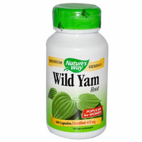 Nature's Way Wild Yam, 100 Capsules | NutriFarm.ca