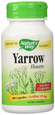 Nature's Way Yarrow Flowers, 100 Capsules | NutriFarm.ca