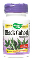 Nature's Way Black Cohosh Standardized, 60 Tablets | NutriFarm.ca