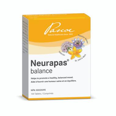 PASCOE NEURAPAS balance, 100 tabs | NutriFarm.ca